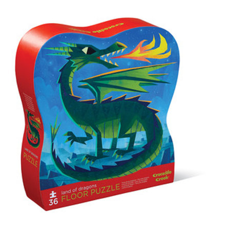 36-pc Puzzle-Land of Dragons