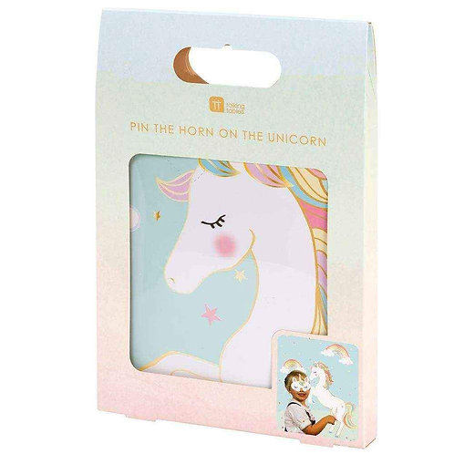 PIN THE HORN ON THE UNICORN - PARTY GAME