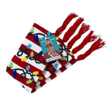 CHRISTMAS ENTERTAINMENT LIGHT UP SCARF