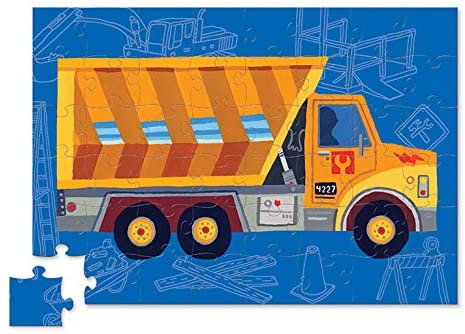 48-Pc Vehicle Puzzles Dump Truck