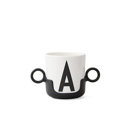 Handles for melamine cups - Black
