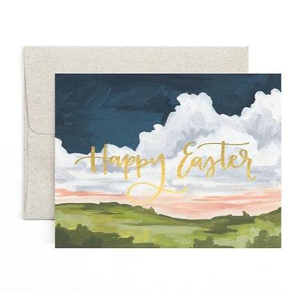 Card-Easter Landscape - Single