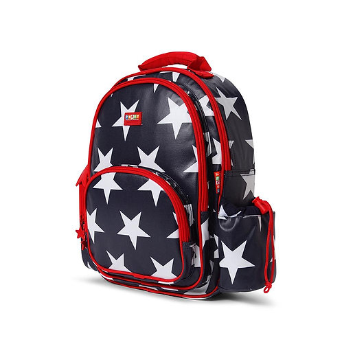 Backpack Large Navy Star