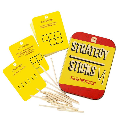 STRATEGY STICKS TIN GAME