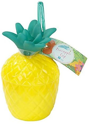 FIESTA TROPICAL PLASTIC PINEAPPLE CUP, 1PK