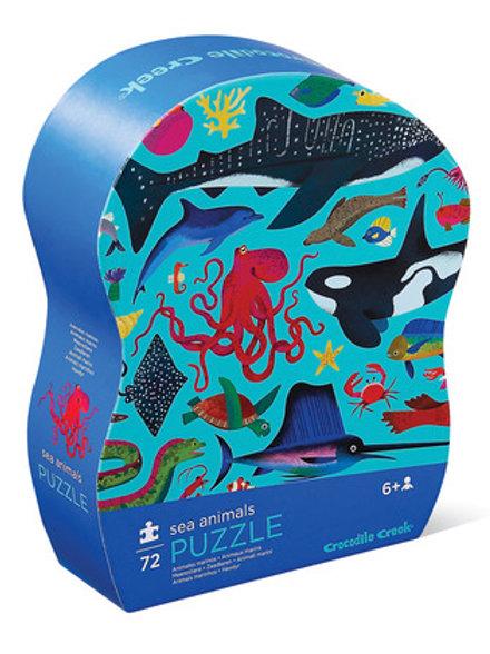 72-pc Puzzle-Sea Animals