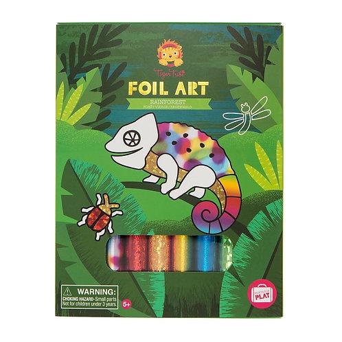 Foil Art- Rainforest