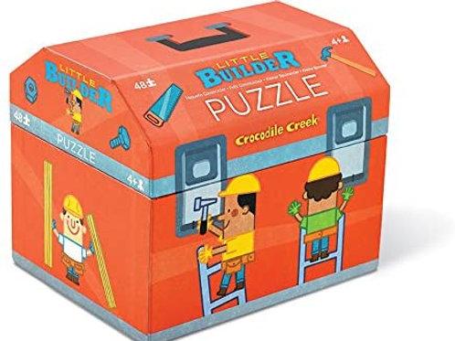 48-Pc Double Fun Puzzles Little Builder