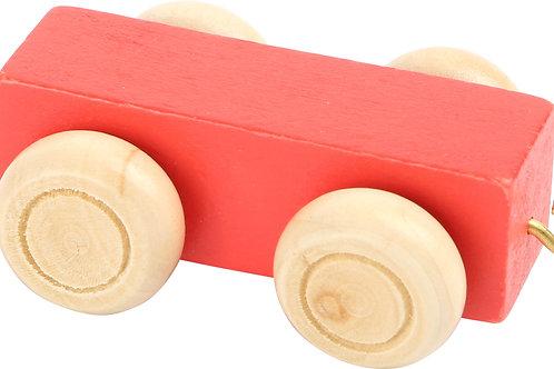 LEG-TRAIN BODY RED