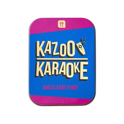 KAZOO KARAOKE TIN GAME