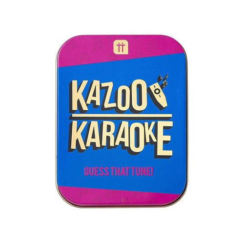 KAZOO KARAOKE TIN GAME