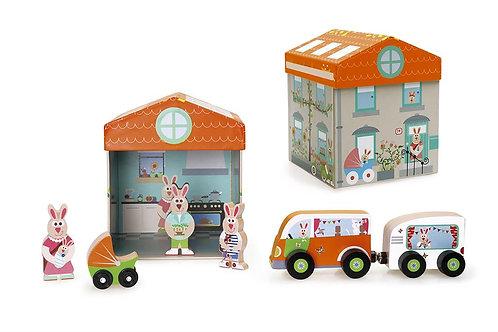 Scratch Preschool: PLAY BOX HOSPITAL 2-in-1