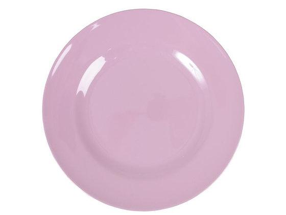 Melamine Round Side Plate in Dark Pink