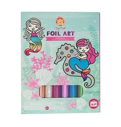 Foil Art- Mermaid