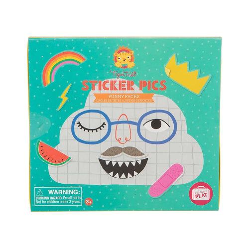 Sticker Pics Funny Faces