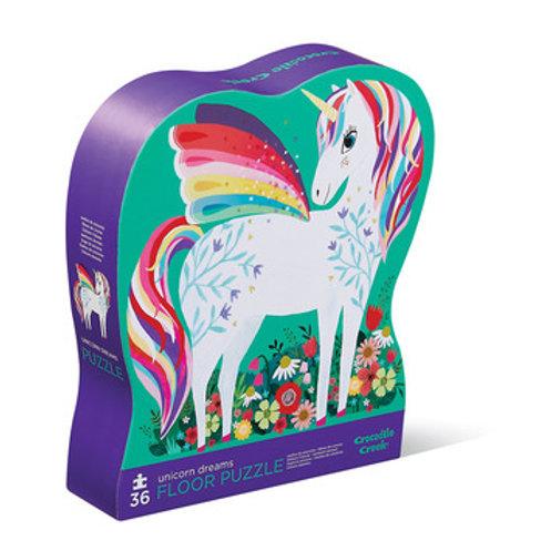 36-pc Puzzle-Unicorn Garden