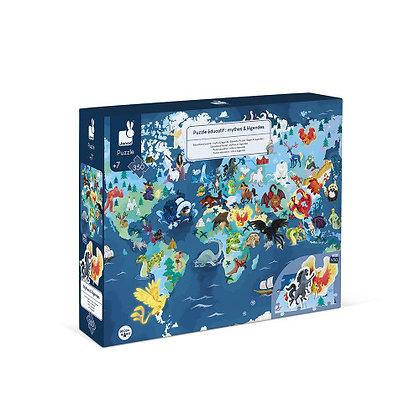 Educationl Puzzel Myths & Legends 350 Pieces