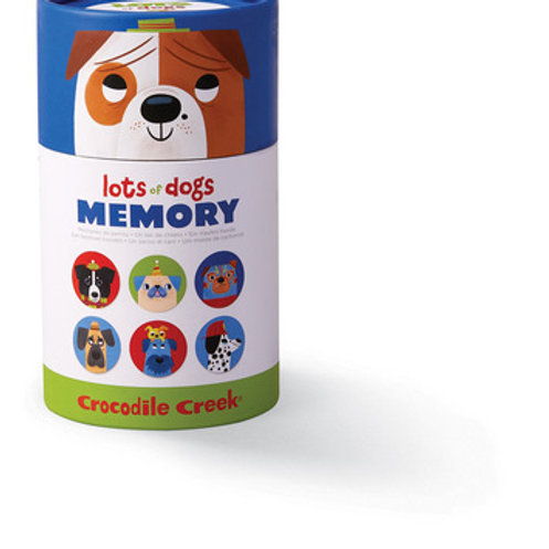 Canister Memory-Lots of Dogs
