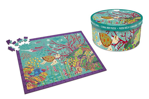 Scratch Puzzle 200pcs: CORAL REEF
