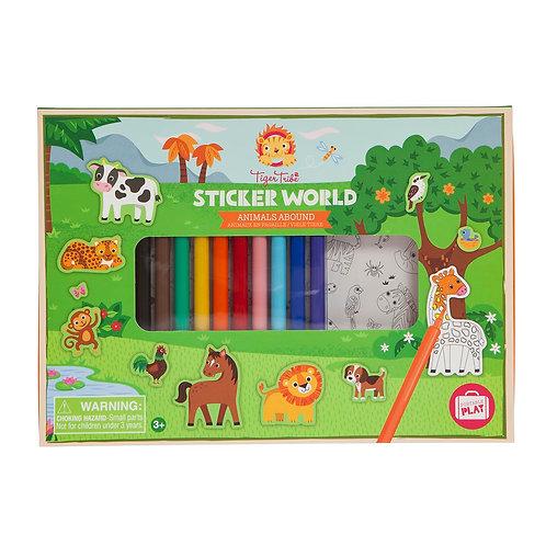 Sticker World - Animals Abound *new format