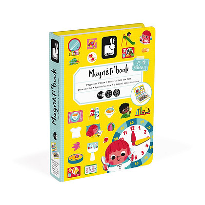 LEARN TO TELL THE TIME MAGNETIC BOOK