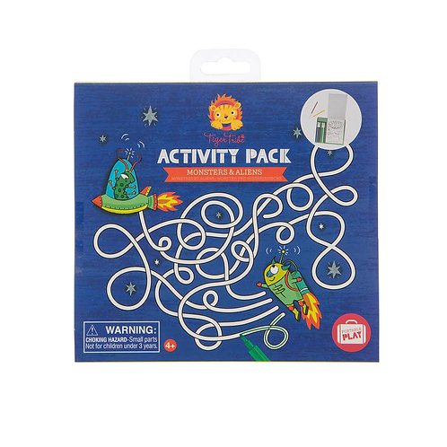 Activity Pack Monster And Aliens