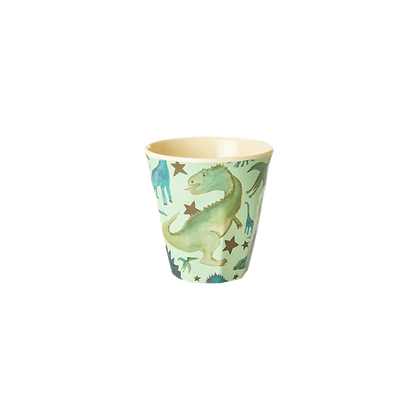 Melamine Kids Cup with Dino print - Small