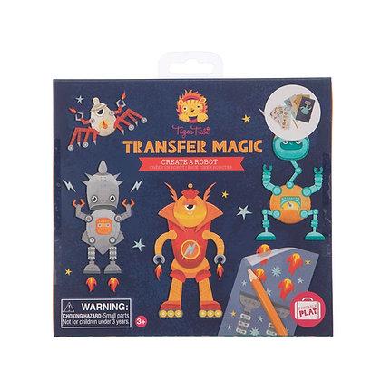 Transfer Magic Create A Robot