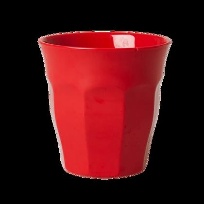 Melamine Cup in Red - Medium
