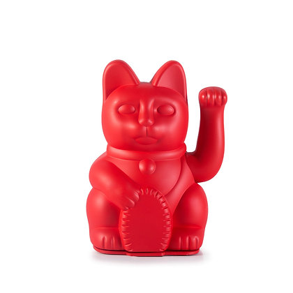 Lucky Cat-Iconic Red
