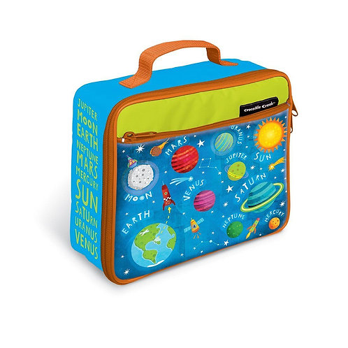 Lunchbags Solar System light blue
