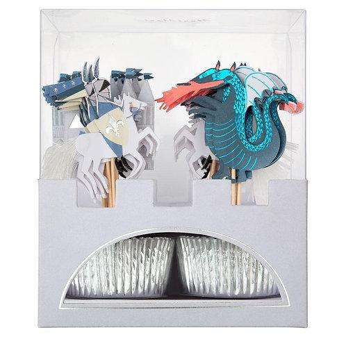 Dragon Knights Cupcake Kit