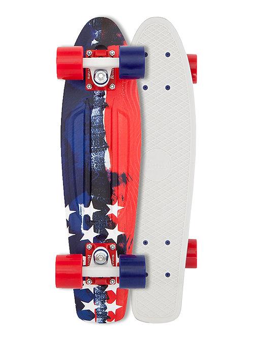 Penny Board 22''-Stripes & Stars