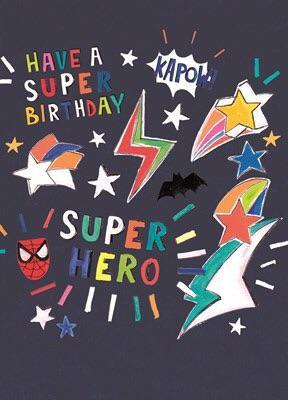 CARD - Hoopla HB Boys Superhero Day