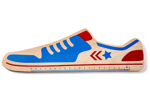 Funky Ruler Donkey Star / Sneaker beech wood