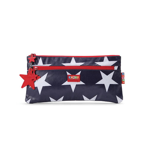 Pencil Case Navy Star