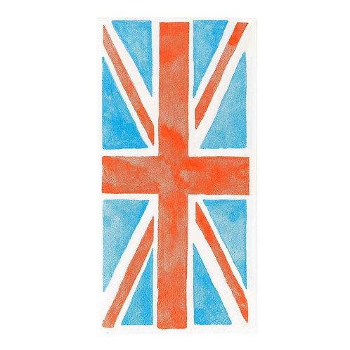 BEST OF BRITISH UNION JACK 33CM NAPKIN
