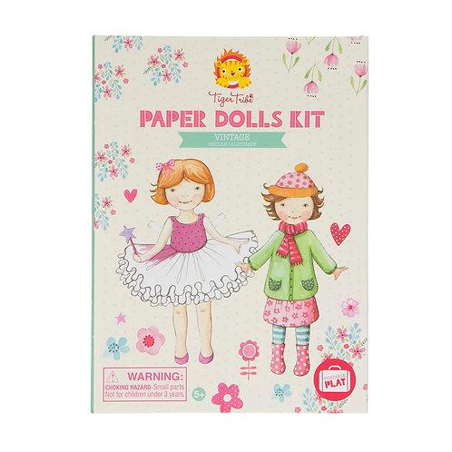 Paper Doll Kit - Vintage