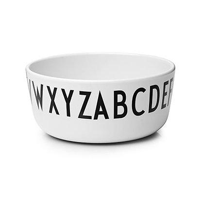 Design Letters Melamine Bowl