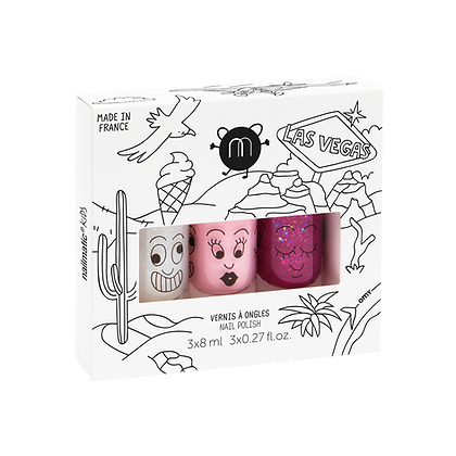 Las Vegas - Nail Polish Set of 3