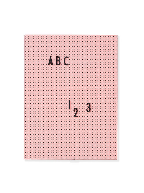 Message board A4-Pink