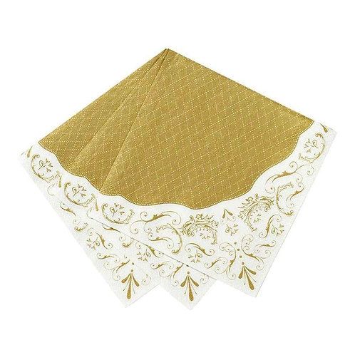 Party Porcelain Gold Napkin