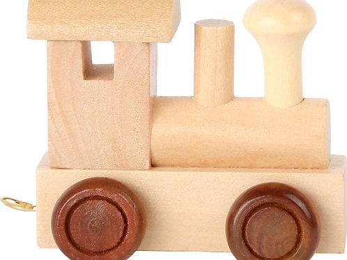 Letter train, locomotive engine