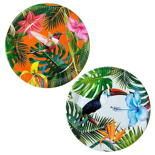 TROPICAL PLATE 12 PACK