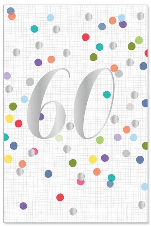 Greeting card-Happy 60!