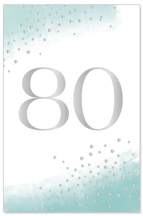 Greeting card-Happy 80!
