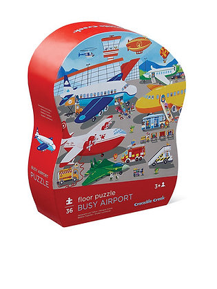 36-pc Puzzle-Busy Airport