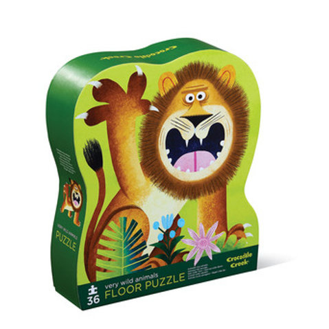 36-pc Puzzle-Very Wild Animals