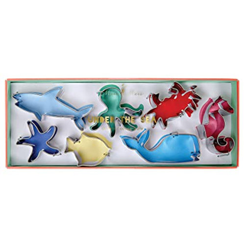 Under the sea cookie cutters S/7