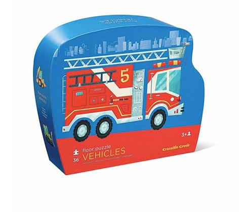 36-Pc Classic Floor Puzzles Vehicles